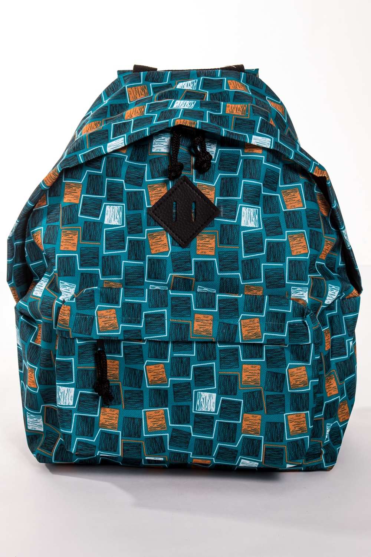 РюкзакРюкзаки<br>Модный рюкзак для активного отдыха или занятий спортом из качественных ярких материалов. Одно основное отделение на двухсторонней молнии. Снаружи передний карман на молнии, удобные лямки и ручка.  Размеры: 31,5*40*13 см  Цвет: бирюзовый, бежевый, белый<br><br>По материалу: Тканевые<br>По образу: Город,Спорт<br>По рисунку: Абстракция,Цветные,С принтом<br>По силуэту стенок: Трапециевидные<br>По способу ношения: На плечо<br>По степени жесткости: Мягкие<br>По типу застежки: С застежкой молнией<br>По элементам: Карман на молнии<br>Ручки: Плечевые,Широкие<br>Отделения: 1 отделение<br>Размер : UNI<br>Материал: Полиэстер<br>Количество в наличии: 1