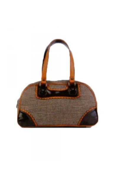Сумка классическаяКлассические<br>Классическая женская сумка  Размеры: длина 38 см высота 23 см ширина 11 см  Цвет: бежевый, коричневый, оранжевый<br><br>По размеру: Средние<br>По рисунку: Цветные<br>По силуэту стенок: Прямоугольные<br>По степени жесткости: Мягкие<br>Ручки: Длинные<br>Размер : UNI<br>Материал: Текстиль<br>Количество в наличии: 1