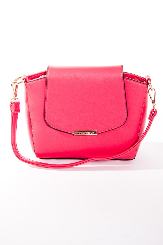Классическая сумкаКлассические<br>Маленькая женская сумка.  Размеры: 22*17*8 см  Цвет: коралловый<br><br>По материалу: Искусственная кожа<br>По размеру: Маленькие<br>По рисунку: Однотонные<br>По силуэту стенок: Прямоугольные<br>По способу ношения: В руках,На плечо<br>По степени жесткости: Полужесткие<br>По типу застежки: С застежкой молнией,С клапаном<br>Ручки: Длинные,Короткие<br>Размер : UNI<br>Материал: Искусственная кожа<br>Количество в наличии: 1