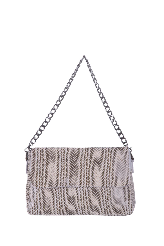 СумкаКлассические<br>Удобная и вместительная женская сумка. Модель выполнена из фактурного материала. Отличный выбор для завершения образа.  Цвет: светло-бежевый  Размеры: 27*19*9 см.<br><br>По материалу: Искусственная кожа<br>По рисунку: Однотонные,Рептилия,Фактурный рисунок<br>По способу ношения: В руках,На плечо<br>По степени жесткости: Полужесткие<br>По типу застежки: С клапаном<br>Ручки: Длинные,Регулируемые<br>По сезону: Всесезон<br>По форме: Прямоугольные<br>Размер : UNI<br>Материал: Искусственная кожа<br>Количество в наличии: 1
