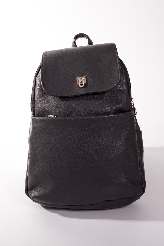 РюкзакРюкзаки<br>Классический женский рюкзак с клапаном, короткой и двумя тонкими плечевыми ручками. Задний и передний карманы на молнии.  Цвет: серый  Размеры:  длина 23 см высота 35 см ширина 7 см<br><br>По материалу: Искусственная кожа<br>По образу: Город,Жизнь,Офис<br>По рисунку: Однотонные<br>По силуэту стенок: Прямоугольные<br>По степени жесткости: Мягкие<br>По стилю: Классические,Повседневные<br>По типу застежки: С застежкой молнией,С клапаном<br>Ручки: Плечевые,Тонкие<br>Размер : UNI<br>Материал: Искусственная кожа<br>Количество в наличии: 1