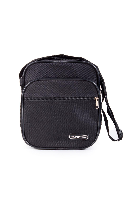 СумкаБарсетки<br>Удобная мужская сумка с длинной ручкой.  В изделии использованы цвета: черный  Габариты, см: 24х20х9<br><br>Размер : UNI<br>Материал: Полиэстер<br>Количество в наличии: 1