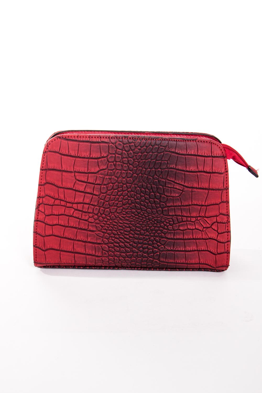 Классическая сумкаКлассические<br>Маленькая женская сумка.  Размеры: 24*16*5 см  Цвет: красный, черный<br><br>По материалу: Искусственная кожа<br>По размеру: Маленькие<br>По рисунку: Рептилия,Цветные,Фактурный рисунок<br>По способу ношения: В руках,На плечо<br>По степени жесткости: Полужесткие<br>По типу застежки: С застежкой молнией<br>Ручки: Длинные<br>По форме: Прямоугольные<br>Размер : UNI<br>Материал: Искусственная кожа<br>Количество в наличии: 2