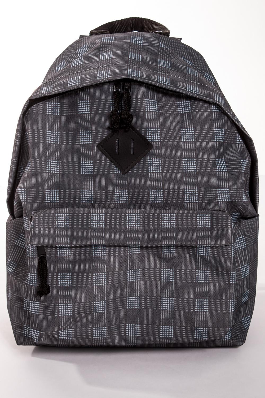 РюкзакРюкзаки<br>Модный рюкзак для активного отдыха или занятий спортом из качественных ярких материалов. Одно основное отделение на двухсторонней молнии. Снаружи передний карман на молнии, удобные лямки и ручка.  Размеры: 31,5*40*13 см  Цвет: серый, голубой<br><br>По материалу: Тканевые<br>По рисунку: Геометрия,Цветные,С принтом<br>По силуэту стенок: Трапециевидные<br>По способу ношения: На плечо<br>По степени жесткости: Мягкие<br>По типу застежки: С застежкой молнией<br>По элементам: Карман на молнии<br>Ручки: Плечевые,Широкие<br>Отделения: 1 отделение<br>По стилю: Молодежный стиль,Повседневный стиль,Спортивный стиль<br>Размер : UNI<br>Материал: Полиэстер<br>Количество в наличии: 1
