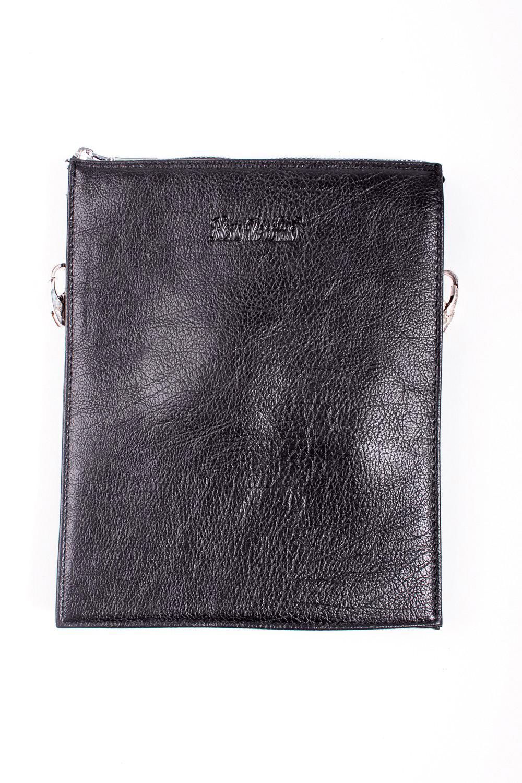 Сумка мужскаяДеловые<br>Удобная и вместительная мужская сумка  Размеры: 19*24*3 см  Цвет: черный<br><br>Размер : UNI<br>Материал: Искусственная кожа<br>Количество в наличии: 1