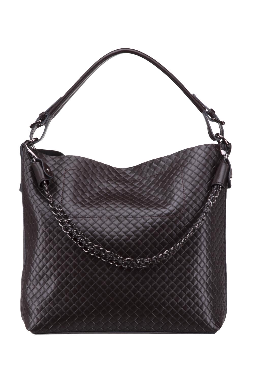 СумкаСумки-шоппинг<br>Удобная и вместительная женская сумка. Модель выполнена из фактурного материала. Отличный выбор для завершения образа.  Цвет: коричневый  Размеры: 40*33*13 см.<br><br>По материалу: Искусственная кожа<br>По размеру: Средние<br>По силуэту стенок: Прямоугольные<br>По степени жесткости: Мягкие<br>Ручки: Длинные<br>По сезону: Всесезон<br>Отделения: 1 отделение<br>По рисунку: Фактурный рисунок<br>Размер : UNI<br>Материал: Искусственная кожа<br>Количество в наличии: 1