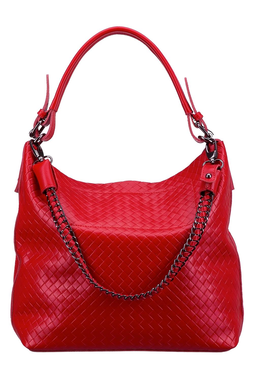 СумкаСумки-шоппинг<br>Удобная и вместительная женская сумка. Модель выполнена из фактурного материала. Отличный выбор для завершения образа.  Цвет: красный  Размеры: 40*33*13 см.<br><br>По материалу: Искусственная кожа<br>По размеру: Средние<br>По силуэту стенок: Прямоугольные<br>По степени жесткости: Мягкие<br>Ручки: Длинные<br>По сезону: Всесезон<br>Отделения: 1 отделение<br>По рисунку: Фактурный рисунок<br>Размер : UNI<br>Материал: Искусственная кожа<br>Количество в наличии: 1