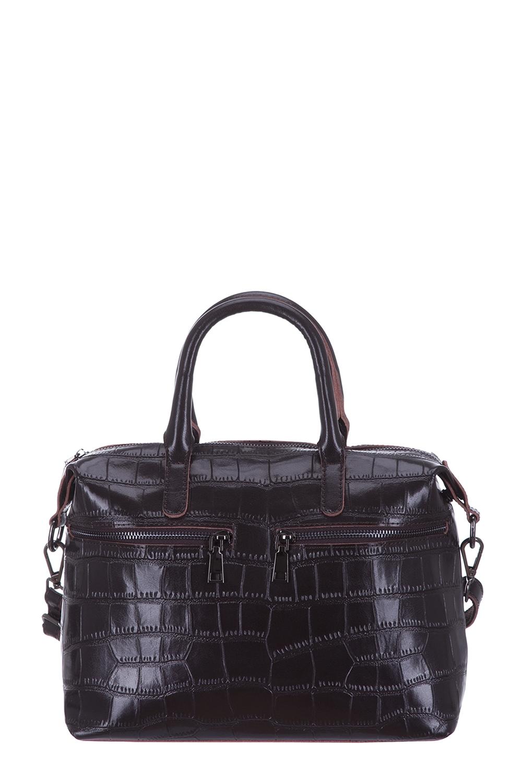 СумкаКлассические<br>Удобная и вместительная женская сумка. Модель выполнена из фактурного материала. Отличный выбор для завершения образа.  Цвет: коричневый  Размеры: 44*22*12 см.<br><br>По материалу: Искусственная кожа<br>По размеру: Средние<br>По рисунку: Однотонные,Фактурный рисунок<br>По способу ношения: В руках<br>По степени жесткости: Полужесткие<br>По элементам: Карман на молнии<br>Ручки: Короткие<br>По сезону: Всесезон<br>По форме: Прямоугольные<br>Размер : UNI<br>Материал: Искусственная кожа<br>Количество в наличии: 1