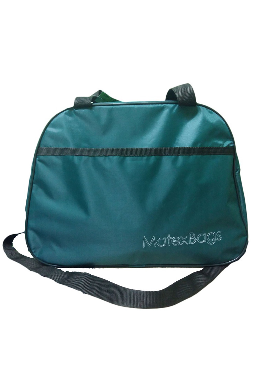 Спортивная сумкаСпортивные<br>Удобная и вместительная спортивная сумка.  Размер: 43*31*22 см.  Цвет: зеленый<br><br>По материалу: Тканевые<br>По рисунку: Однотонные<br>По степени жесткости: Мягкие<br>По типу застежки: С застежкой молнией<br>По сезону: Всесезон<br>Ручки: Длинные,Короткие<br>По стилю: Повседневный стиль<br>По форме: Трапециевидные<br>Размер : UNI<br>Материал: Полиэстер<br>Количество в наличии: 2