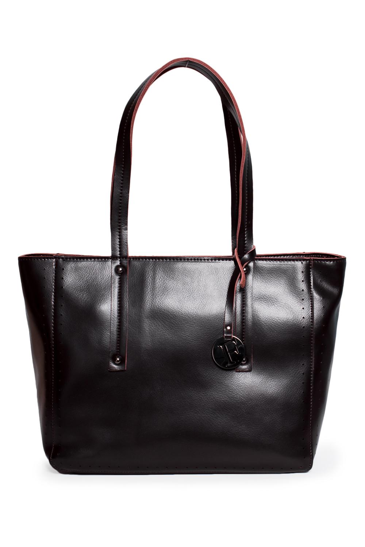 СумкаКлассические<br>Удобная и вместительная женская сумка. Модель выполнена из гладкой кожи. Отличный выбор для завершения образа.  Цвет: коричневый  Размеры: 35*26*12 см<br><br>По материалу: Искусственная кожа<br>По размеру: Средние<br>По рисунку: Однотонные<br>По способу ношения: В руках<br>По степени жесткости: Полужесткие<br>По элементам: Карман на молнии<br>Ручки: Короткие<br>По сезону: Всесезон<br>По форме: Прямоугольные<br>Размер : UNI<br>Материал: Искусственная кожа<br>Количество в наличии: 1