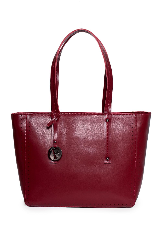 СумкаКлассические<br>Удобная и вместительная женская сумка. Модель выполнена из гладкой кожи. Отличный выбор для завершения образа.  Цвет: бордовый  Размеры: 35*26*12 см<br><br>По материалу: Искусственная кожа<br>По размеру: Средние<br>По рисунку: Однотонные<br>По способу ношения: В руках<br>По степени жесткости: Полужесткие<br>По элементам: Карман на молнии<br>Ручки: Короткие<br>По сезону: Всесезон<br>По форме: Прямоугольные<br>Размер : UNI<br>Материал: Искусственная кожа<br>Количество в наличии: 1