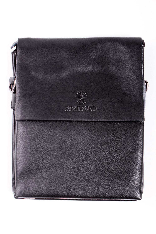 Сумка мужскаяДеловые<br>Удобная и вместительная мужская сумка  Размеры: 22*29*5 см  Цвет: черный<br><br>Размер : UNI<br>Материал: Искусственная кожа<br>Количество в наличии: 2