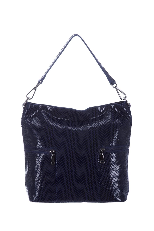 СумкаСумки-шоппинг<br>Удобная и вместительная женская сумка. Модель выполнена из материала под рептилию. Отличный выбор для завершения образа.  Цвет: синий  Размеры: 35*30*12 см.<br><br>По материалу: Искусственная кожа<br>По размеру: Средние<br>По рисунку: Однотонные,Рептилия,Фактурный рисунок<br>По силуэту стенок: Прямоугольные<br>По степени жесткости: Мягкие<br>Ручки: Длинные<br>По сезону: Всесезон<br>Отделения: 1 отделение<br>Размер : UNI<br>Материал: Искусственная кожа<br>Количество в наличии: 1