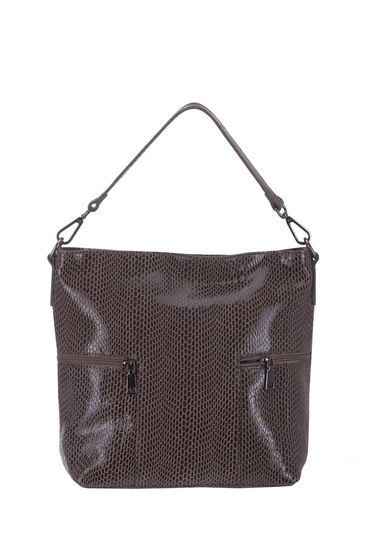 СумкаСумки-шоппинг<br>Удобная и вместительная женская сумка. Модель выполнена из материала под рептилию. Отличный выбор для завершения образа.  В изделии использованы цвета: бежевый, коричневый  Размеры: 35*30*12 см.<br><br>По материалу: Искусственная кожа<br>По размеру: Средние<br>По рисунку: Рептилия,Фактурный рисунок<br>По степени жесткости: Мягкие<br>Ручки: Длинные<br>По сезону: Всесезон<br>Отделения: 1 отделение<br>По форме: Квадратные<br>Размер : UNI<br>Материал: Искусственная кожа<br>Количество в наличии: 1