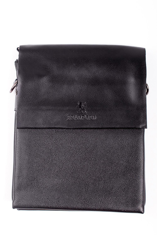 Сумка мужскаяДеловые<br>Удобная и вместительная мужская сумка  Размеры: 24*31*4 см  Цвет: черный<br><br>Размер : UNI<br>Материал: Искусственная кожа<br>Количество в наличии: 2