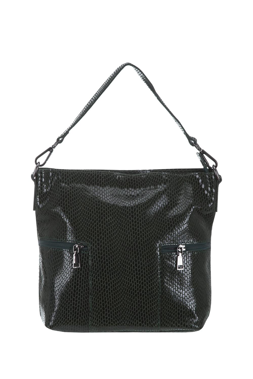 СумкаСумки-шоппинг<br>Удобная и вместительная женская сумка. Модель выполнена из материала под рептилию. Отличный выбор для завершения образа.  Цвет: зеленый  Размеры: 35*30*12 см.<br><br>По материалу: Искусственная кожа<br>По размеру: Средние<br>По рисунку: Рептилия,Фактурный рисунок<br>По степени жесткости: Мягкие<br>Ручки: Длинные<br>По сезону: Всесезон<br>Отделения: 1 отделение<br>По форме: Квадратные<br>Размер : UNI<br>Материал: Искусственная кожа<br>Количество в наличии: 1