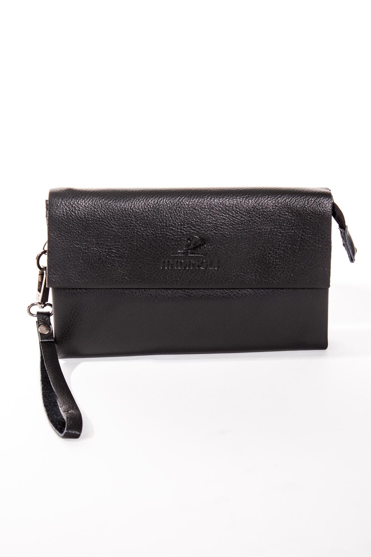 БарсеткаБарсетки<br>Удобная и вместительная мужская сумка  Размеры: 21*12*3 см  Цвет: черный<br><br>Размер : UNI<br>Материал: Натуральная кожа<br>Количество в наличии: 3