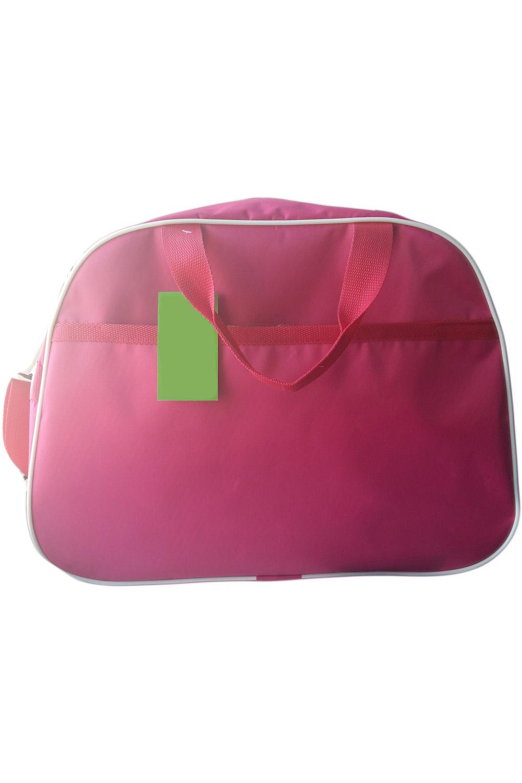 Спортивная сумкаСпортивные<br>Удобная и вместительная спортивная сумка.  Размер: 43*31*22 см.  Цвет: розовый<br><br>По материалу: Тканевые<br>По рисунку: Однотонные<br>По силуэту стенок: Трапециевидные<br>По степени жесткости: Мягкие<br>По типу застежки: С застежкой молнией<br>По сезону: Всесезон<br>Ручки: Длинные,Короткие<br>По стилю: Повседневный стиль<br>Размер : UNI<br>Материал: Полиэстер<br>Количество в наличии: 2