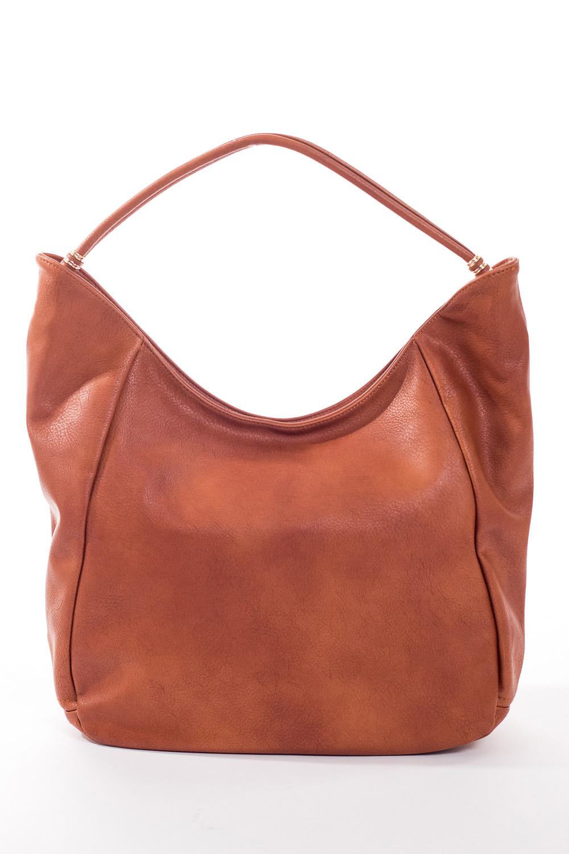 Сумка-шоппингСумки-шоппинг<br>Удобная и вместительная женская сумка.  Размеры: 34*29*12 см.  Цвет: коричневый<br><br>По материалу: Искусственная кожа<br>По размеру: Средние<br>По рисунку: Однотонные<br>По силуэту стенок: Прямоугольные<br>По степени жесткости: Мягкие<br>По типу застежки: С застежкой молнией<br>Ручки: Длинные<br>Размер : UNI<br>Материал: Искусственная кожа<br>Количество в наличии: 3