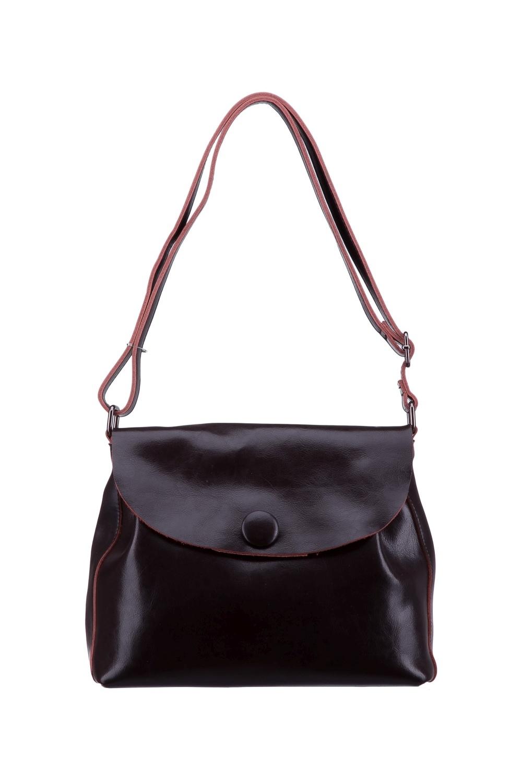 СумкаКлассические<br>Женская сумка – это незаменимый атрибут стиля и проявления индивидуальности каждой представительницы прекрасного пола. В нашем интернет - магазине Вы сможете подобрать нужную сумочку к любому образу и для любых событий. Кошелек в комплекте.  Цвет: коричневый.  Длина - 29 ± 1 см Высота - 29 ± 1 см Ширина - 11 ± 1 см<br><br>По материалу: Натуральная кожа<br>По размеру: Средние<br>По рисунку: Однотонные<br>По способу ношения: В руках,На запастье,На плечо,Через плечо<br>По степени жесткости: Мягкие<br>По типу застежки: С застежкой молнией<br>По элементам: Карман на молнии,Карман под телефон<br>Ручки: Длинные,Короткие,Регулируемые<br>По форме: Трапециевидные<br>Размер : UNI<br>Материал: Натуральная кожа<br>Количество в наличии: 1