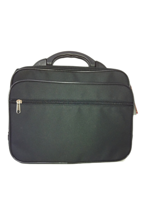 КейсДеловые<br>Удобная и вместительная мужская сумка. Пластмассовый каркас.  Размеры: 39*12*29 см  Цвет: черный<br><br>Размер : UNI<br>Материал: Полиэстер<br>Количество в наличии: 1