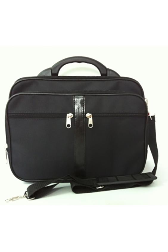 КейсДеловые<br>Удобная и вместительная мужская сумка. Пластмассовый каркас.  Размеры: 40*12*33 см  Цвет: черный<br><br>Размер : UNI<br>Материал: Полиэстер<br>Количество в наличии: 1