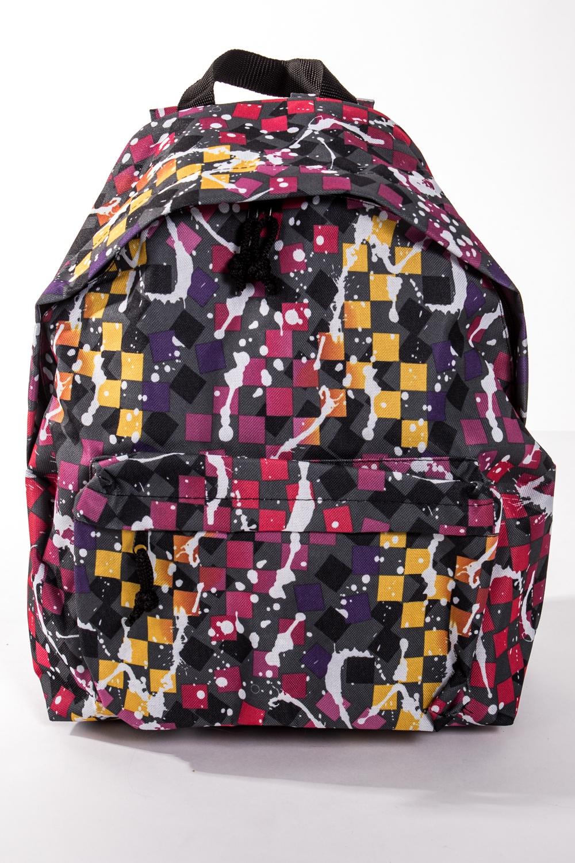 РюкзакРюкзаки<br>Модный рюкзак для активного отдыха или занятий спортом из качественных ярких материалов. Одно основное отделение на двухсторонней молнии. Снаружи передний карман на молнии, удобные лямки и ручка.  Размеры: 31,5*40*13 см  Цвет: серый, розовый, желтый, оранжевый<br><br>По материалу: Тканевые<br>По образу: Город,Спорт<br>По рисунку: Цветные,Геометрия,С принтом<br>По силуэту стенок: Трапециевидные<br>По способу ношения: На плечо<br>По степени жесткости: Мягкие<br>По типу застежки: С застежкой молнией<br>По элементам: Карман на молнии<br>Ручки: Плечевые,Широкие<br>Отделения: 1 отделение<br>Размер : UNI<br>Материал: Полиэстер<br>Количество в наличии: 5