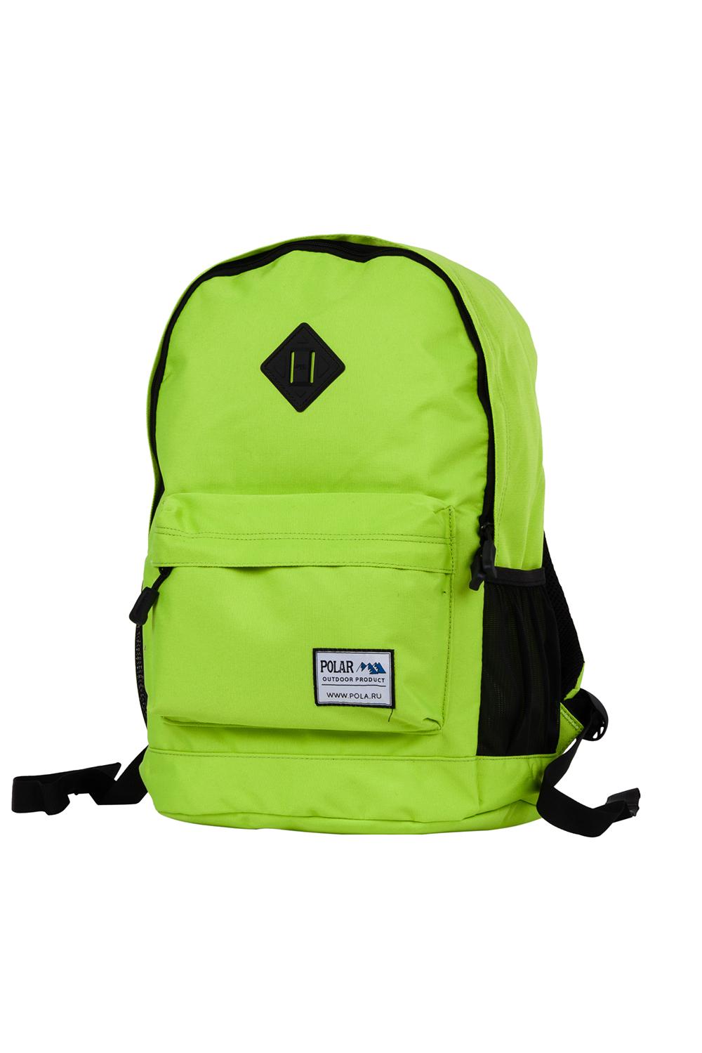 РюкзакРюкзаки<br>Модный рюкзак для активного отдыха или занятий спортом из качественных ярких материалов. Одно основное отделение на двухсторонней молнии. Снаружи передний карман на молнии, удобные лямки и ручка.  Размеры: 33*16*43 см  Цвет: салатовый, черный<br><br>По материалу: Тканевые<br>По рисунку: Однотонные,Цветные<br>По способу ношения: На плечо<br>По степени жесткости: Мягкие<br>По типу застежки: С застежкой молнией<br>Ручки: Плечевые<br>По сезону: Всесезон<br>По стилю: Повседневный стиль,Спортивный стиль<br>По форме: Прямоугольные<br>Размер : UNI<br>Материал: Полиэстер<br>Количество в наличии: 1