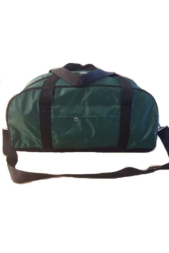 Спортивная сумкаСпортивные<br>Удобная и вместительная спортивная сумка.  Размер: 47*22*21 см.  В изделии использованы цвета: зеленый, черный<br><br>По сезону: Всесезон<br>Размер : UNI<br>Материал: Полиэстер<br>Количество в наличии: 3