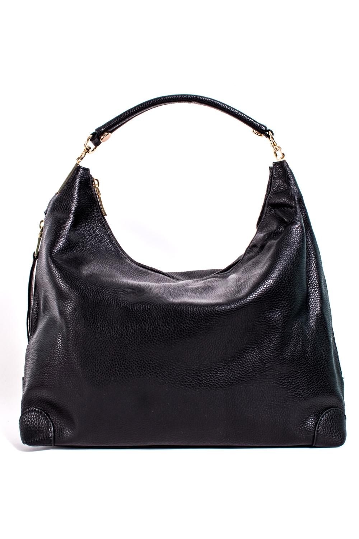СумкаСумки-шоппинг<br>Удобная и вместительная женская сумка.  Размеры: 42*26*11 см.  Цвет: черный<br><br>По материалу: Искусственная кожа<br>По рисунку: Однотонные<br>По способу ношения: В руках,На плечо<br>По типу застежки: С застежкой молнией<br>По элементам: Карман на молнии,Карман под телефон<br>Ручки: Короткие<br>По форме: Прямоугольные<br>Размер : UNI<br>Материал: Искусственная кожа<br>Количество в наличии: 1