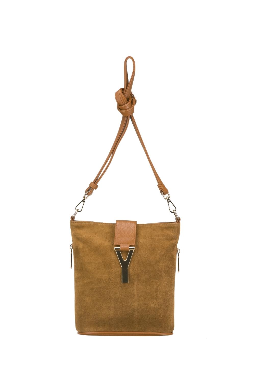 СумкаКлассические<br>Женская сумка – это незаменимый атрибут стиля и проявления индивидуальности каждой представительницы прекрасного пола. В нашем интернет - магазине Вы сможете подобрать нужную сумочку к любому образу и для любых событий.  Цвет: зеленовато-рыжий.  Длина - 23 ± 1 см Высота - 24 ± 1 см Ширина - 8 ± 1 см<br><br>По материалу: Замша,Искусственная кожа<br>По рисунку: Однотонные<br>По способу ношения: В руках,На плечо,Через плечо<br>По степени жесткости: Мягкие<br>По типу застежки: С застежкой молнией<br>По элементам: Карман на молнии,Карман под телефон,С декором,С отделочной фурнитурой<br>Ручки: Длинные,Регулируемые<br>По размеру: Средние<br>По форме: Квадратные<br>Размер : UNI<br>Материал: Искусственная кожа + Натуральная замша<br>Количество в наличии: 1