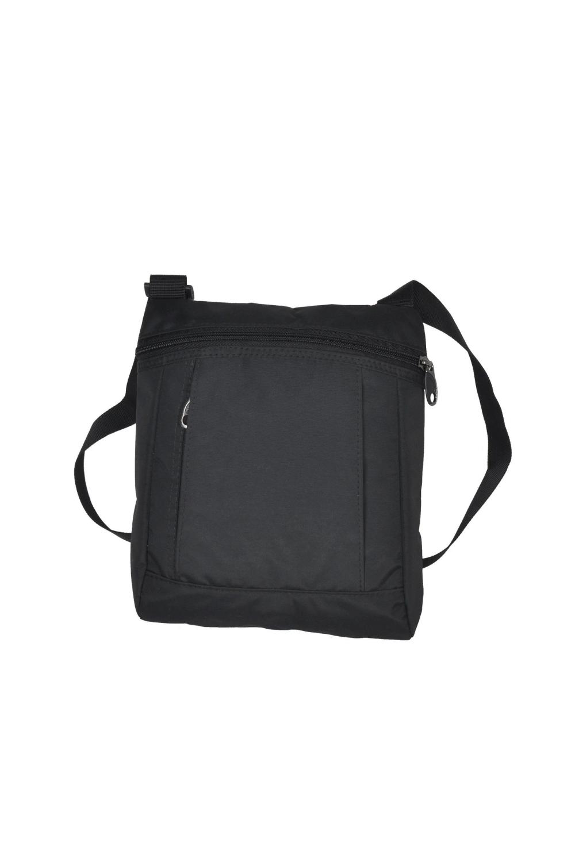 СумкаБарсетки<br>Удобная мужская сумка. Модель с застежкой на молнию и одной плечевой ручкой.  В изделии использованы цвета: черный  Габариты, см: 28х24х4<br><br>Размер : UNI<br>Материал: Полиэстер<br>Количество в наличии: 2