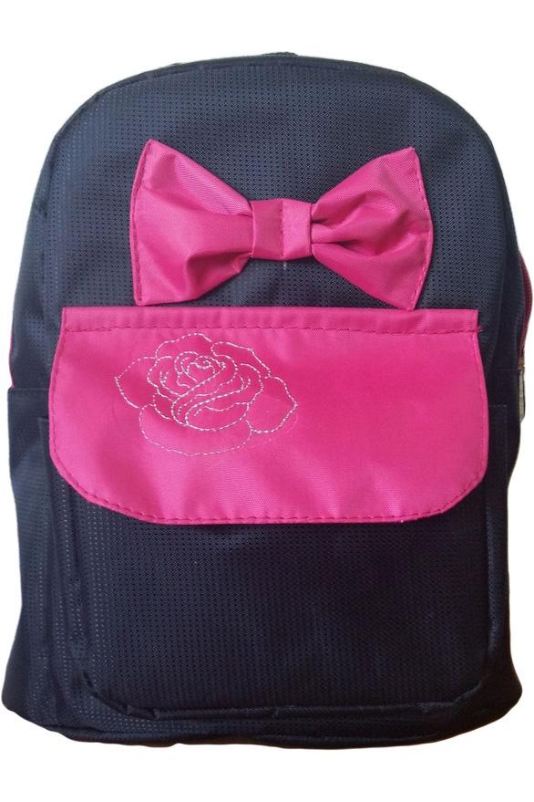РюкзакСумки и кошельки<br>Яркий и удобный рюкзак для девочки  В изделии использованы цвета: черный, розовый  Размер: 27*22*10 см<br><br>По сезону: Всесезон<br>Размер : UNI<br>Материал: Полиэстер<br>Количество в наличии: 1