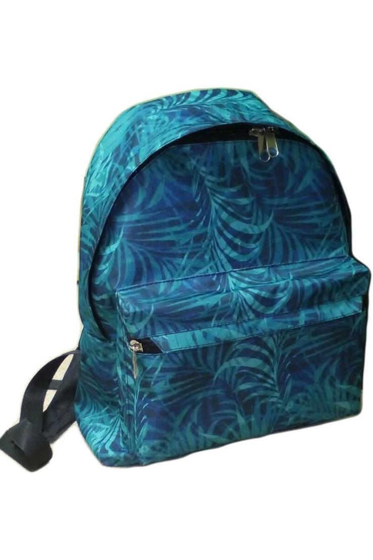 РюкзакСумки и кошельки<br>Яркий и удобный рюкзак для девочки  В изделии использованы цвета: бирюзовый, синий  Размер: 31*27*10 см<br><br>По сезону: Всесезон<br>Размер : UNI<br>Материал: Полиэстер<br>Количество в наличии: 3