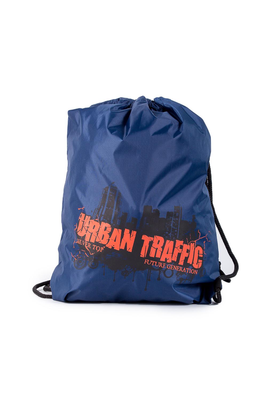 Торба для обувиСумки для мальчиков<br>Удобная и вместительная торба для обуви.  В изделии использованы цвета: синий, черный, оранжевый  Габариты, см: 42х34<br><br>По сезону: Всесезон<br>Размер : UNI<br>Материал: Полиэстер<br>Количество в наличии: 2