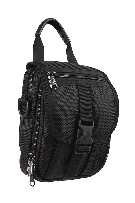 СумкаБарсетки<br>Удобная и вместительная мужская сумка.  Размеры: 15*5*20 см  Цвет: черный<br><br>Размер : UNI<br>Материал: Полиэстер<br>Количество в наличии: 1