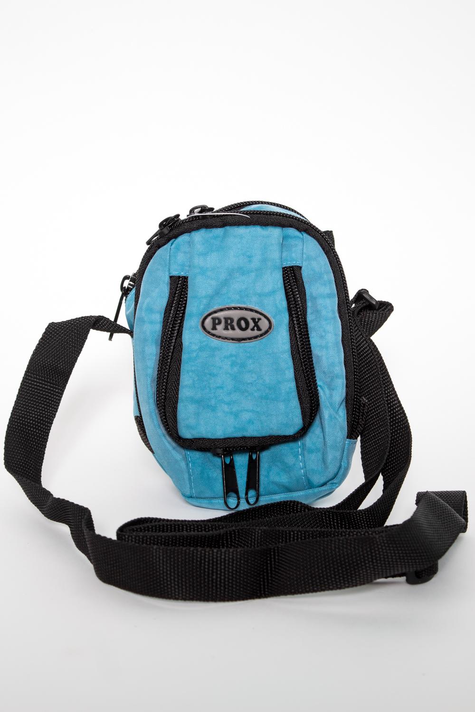 СумкаБарсетки<br>Мужские сумки – это незаменимый элемент мужского гардероба. Благодаря практичному и привлекательному дизайну этот стильный аксессуар завоевал высокую популярность среди представителей мужского пола, а широкий выбор расцветок и разнообразие моделей позволяют подбирать сумки в любом стиле: в спортивном, городском или классическом.  В изделии использованы цвета: голубой, черный.  Размеры: 10*15*7 см<br><br>Размер : UNI<br>Материал: Полиэстер<br>Количество в наличии: 1