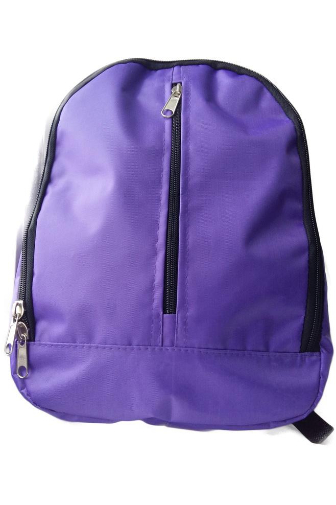РюкзакСумки и кошельки<br>Яркий и удобный рюкзак для девочки  Цвет: фиолетовый  Размер: 34*8*23 см<br><br>По сезону: Всесезон<br>Размер : UNI<br>Материал: Полиэстер<br>Количество в наличии: 2