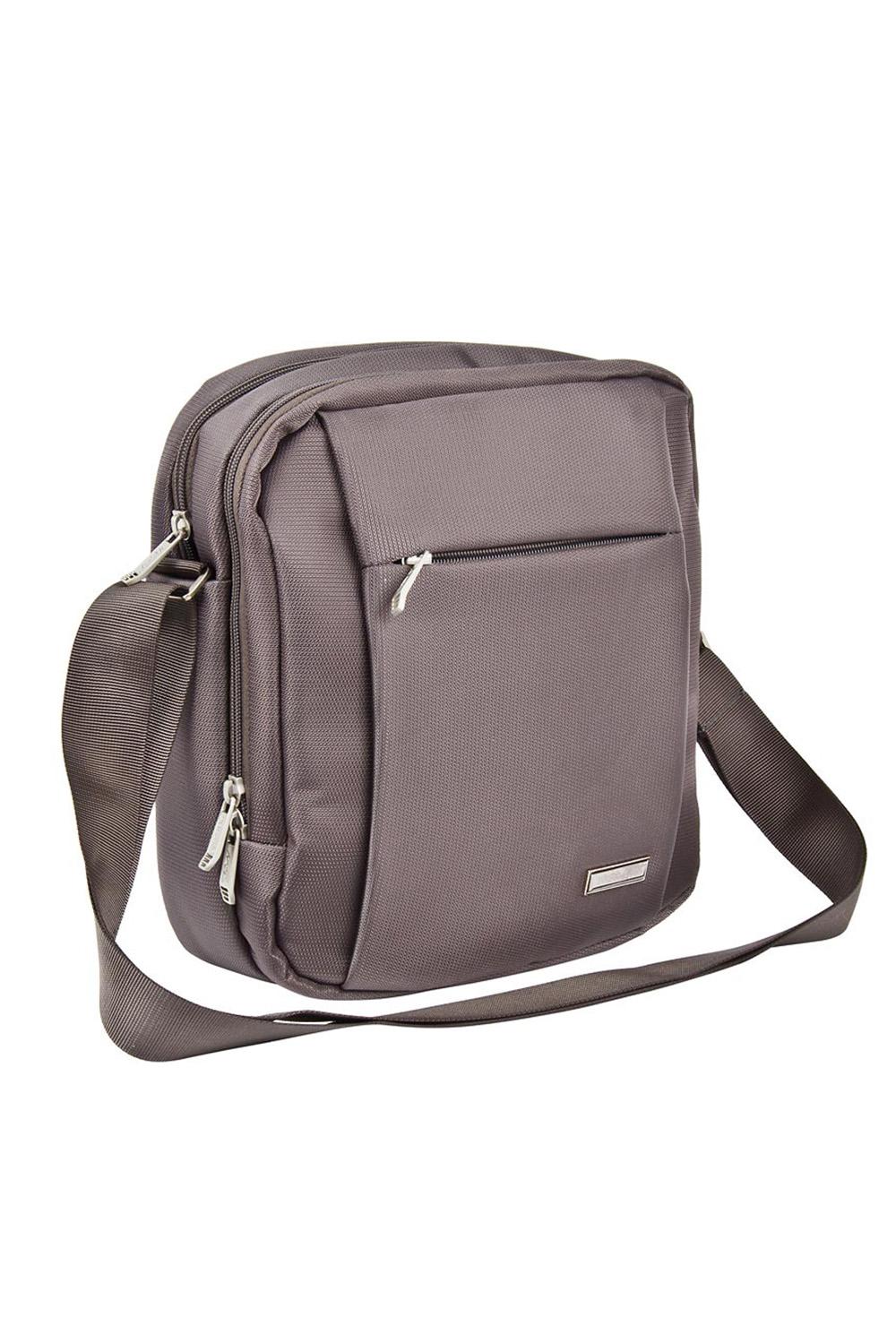 ПланшетБарсетки<br>Удобная и вместительная мужская сумка.  Размеры: 23*26*7 см  Цвет: серый<br><br>Размер : UNI<br>Материал: Полиэстер<br>Количество в наличии: 1