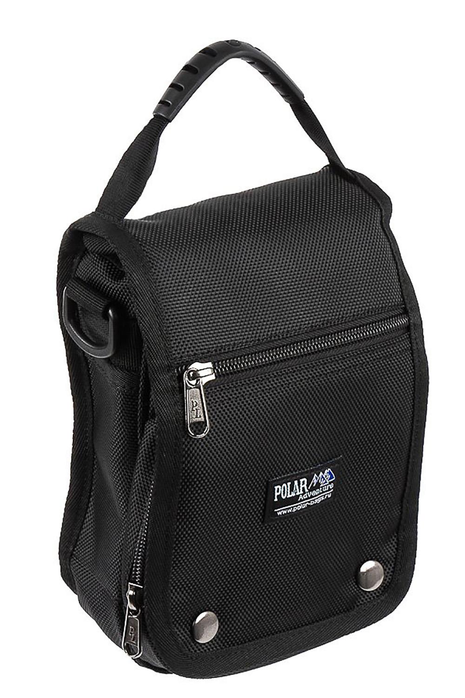СумкаБарсетки<br>Удобная и вместительная мужская сумка.  Размеры: 22*13*5 см  Цвет: черный<br><br>Размер : UNI<br>Материал: Полиэстер<br>Количество в наличии: 1