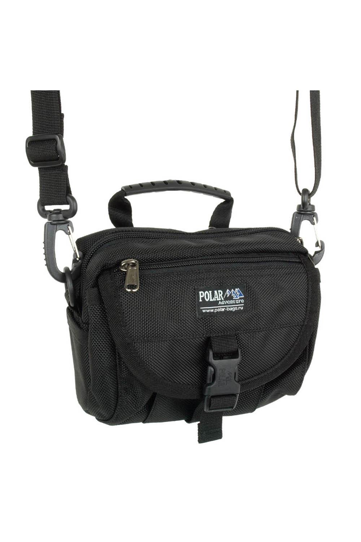 СумкаБарсетки<br>Удобная и вместительная мужская сумка.  Размеры: 18*14*8 см  Цвет: черный<br><br>Размер : UNI<br>Материал: Полиэстер<br>Количество в наличии: 1