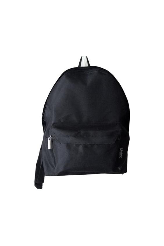 РюкзакПодростковые сумки<br>Удобный и вместительный рюкзак для подростка  В изделии использованы цвета: черный  Размер: 32*35*9 см<br><br>Размер : UNI<br>Материал: Полиэстер<br>Количество в наличии: 2