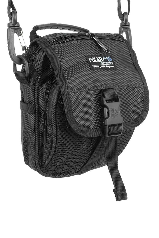 СумкаБарсетки<br>Удобная и вместительная мужская сумка.  Размеры: 18*8*20 см  Цвет: черный<br><br>Размер : UNI<br>Материал: Полиэстер<br>Количество в наличии: 1