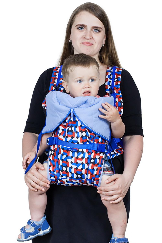 Рюкзак-кенгуруСлинги, кенгуру и эрго-рюкзаки<br>Рюкзак-кенгуру для тех, кто любит выглядеть ярко  Преимущества: - 6 положений - полноценное, безопасное положение «лежа» для новорожденных - твердый вкладыш под спинку - анатомическая конструкция лямок и поддержка под спину родителя - полностью раскладывается - правильное, безопасное распределение веса - широкое, ортопедически правильное сиденье - надежная, безопасная фиксация ребенка - более 10 уровней регулировки высоты расположения ребенка - все настраивается одной рукой - не ограничивает возможность движений малыша - мягкие валики исключают пережатие ножек - хорошая поддержка головы и шеи малыша - боковые фиксаторы для правильной поддержки позвоночника - более 10 уровней регулировки высоты расположения ребенка  В изделии использованы цвета: белый, синий, красный и др.<br><br>По сезону: Всесезон<br>Размер : UNI<br>Материал: Болонья<br>Количество в наличии: 1