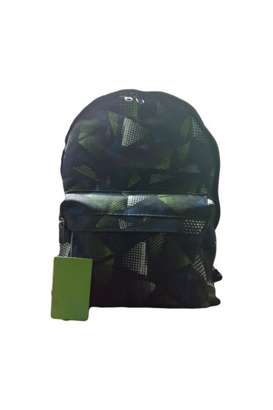 РюкзакПодростковые сумки<br>Удобный и вместительный рюкзак для подростка  В изделии использованы цвета: черный, зеленый, синий и др.  Размер: 29*13*38 см<br><br>Размер : UNI<br>Материал: Полиэстер<br>Количество в наличии: 2