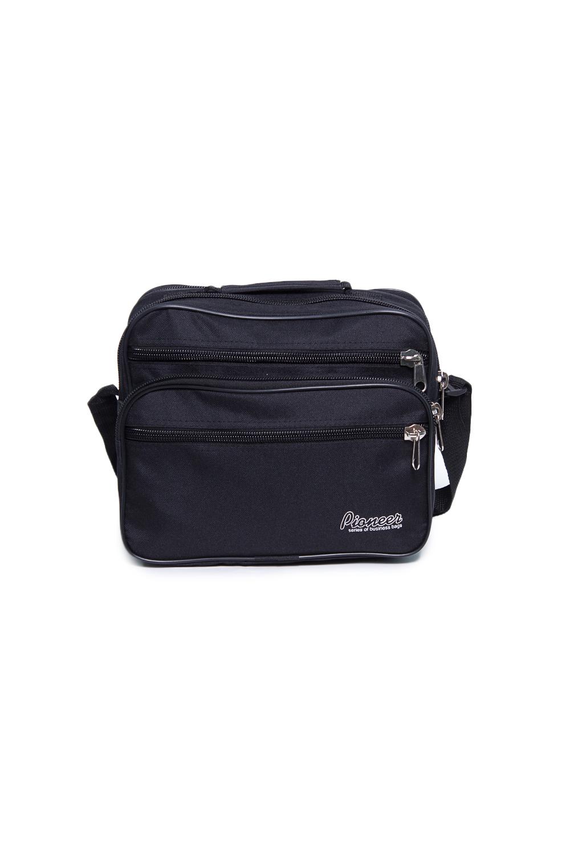 СумкаДеловые<br>Удобная и вместительная мужская сумка.  Размеры: 30*16*25 см  Цвет: черный<br><br>Размер : UNI<br>Материал: Полиэстер<br>Количество в наличии: 1