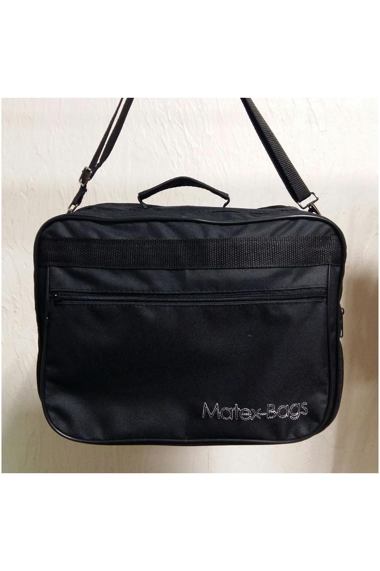 Деловая сумкаДеловые<br>Удобная и вместительная мужская сумка.  Размеры: 34*22*13 см  Цвет: черный<br><br>Размер : UNI<br>Материал: Полиэстер<br>Количество в наличии: 1