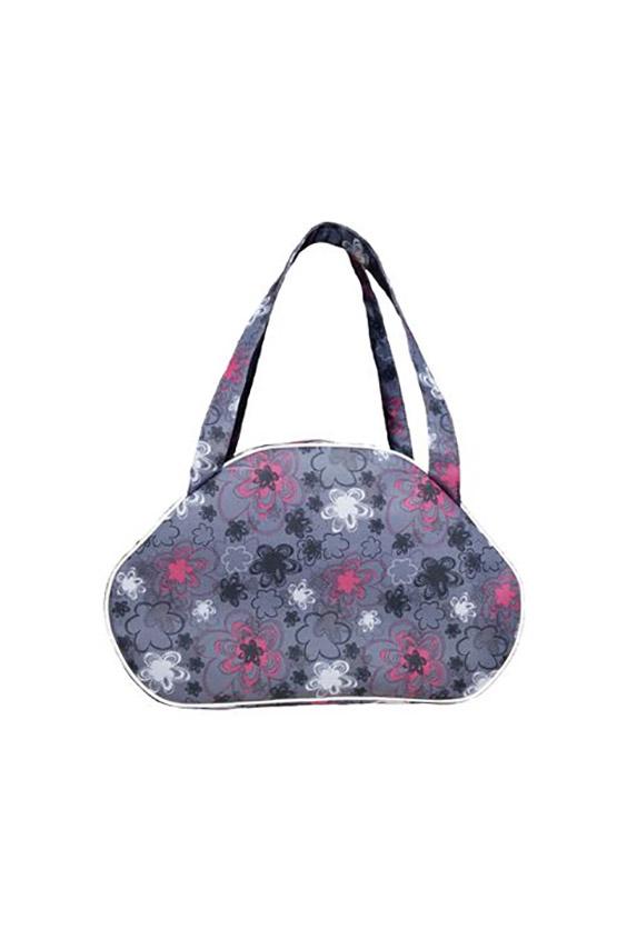 Дорожная сумкаДорожные<br>Удобная и вместительная дорожная сумка.  В изделии использованы цвета: серый, розовый и др.<br><br>По материалу: Тканевые<br>По размеру: Средние<br>По рисунку: С принтом,Цветные<br>По способу ношения: В руках<br>По степени жесткости: Мягкие<br>Ручки: Короткие<br>По форме: Трапециевидные<br>По сезону: Всесезон<br>Размер : UNI<br>Материал: Полиэстер<br>Количество в наличии: 1