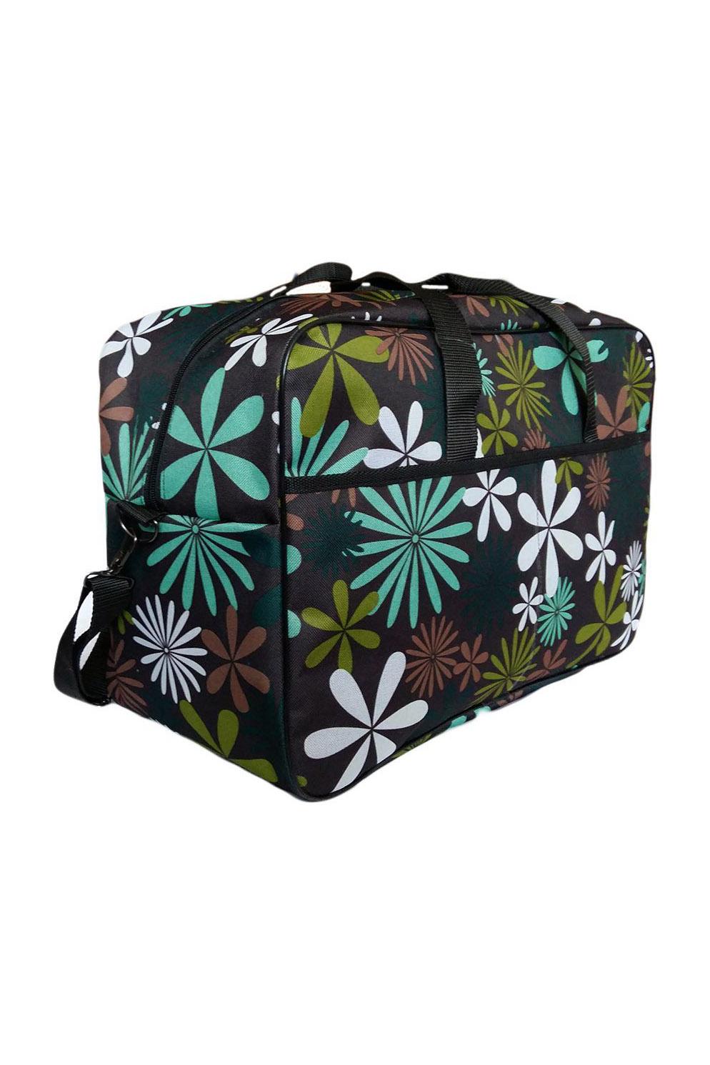 Дорожная сумкаДорожные<br>Удобная и вместительная дорожная сумка.  Размеры: 46*19*29 см.  В изделии использованы цвета: черный и др.<br><br>По материалу: Тканевые<br>По размеру: Средние<br>По рисунку: С принтом,Цветные<br>По способу ношения: В руках<br>По степени жесткости: Мягкие<br>По форме: Прямоугольные<br>Ручки: Короткие<br>По сезону: Всесезон<br>Размер : UNI<br>Материал: Полиэстер<br>Количество в наличии: 2