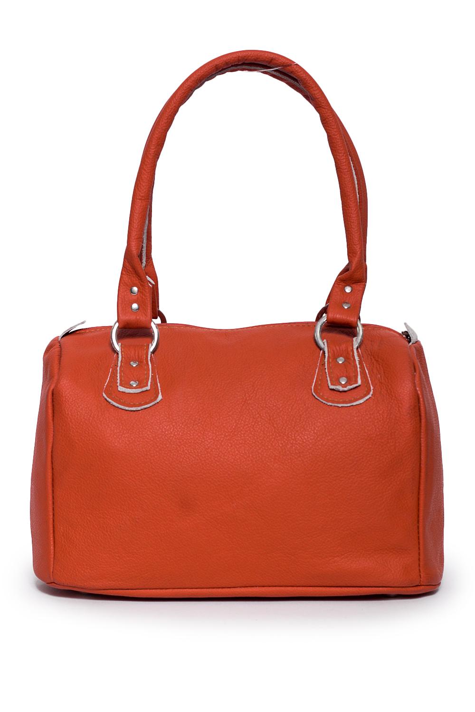 СумкаКлассические<br>Удобная и вместительная женская сумка. В сумке одно большое отделение, 1 карман на замке, 2 маленьких кармана.  Состав: верх - натуральная кожа Крс 100 %, подклад - полиэстер  Размеры: 20*16*30 см  Цвет: оранжевый<br><br>Отделения: 1 отделение<br>По материалу: Натуральная кожа<br>По размеру: Средние<br>По рисунку: Однотонные<br>По способу ношения: В руках,На запастье<br>По типу застежки: С застежкой молнией<br>По элементам: Карман на молнии<br>Ручки: Короткие<br>По форме: Прямоугольные<br>Размер : UNI<br>Материал: Натуральная кожа<br>Количество в наличии: 1